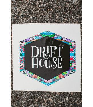 Drift House Abstract Logo Sticker