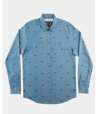 Salty Crew Woven Market UV Tech Shirt