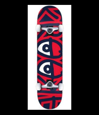 """Krooked Skateboards 7.75"""" Big Eyes Complete"""