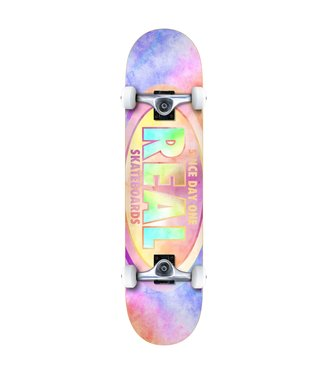 """REAL 7.3"""" Oval Tie Dye Complete"""