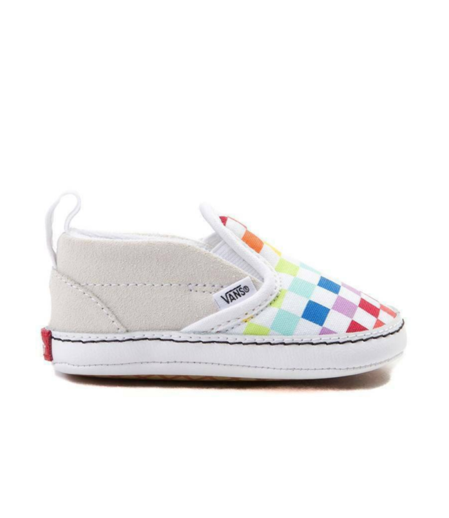 Vans Infant Crib Slip-On Rainbow Velcro