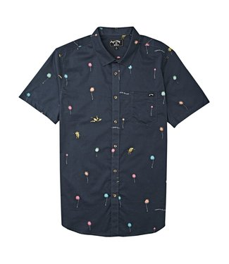 Billabong Lorax Truffula Button Up Shirt