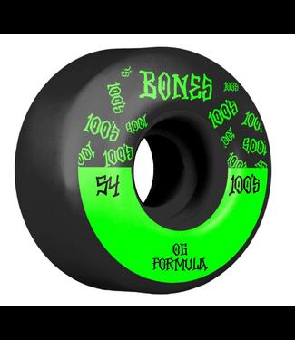 Bones 54mm 100's OG V4 Wheels