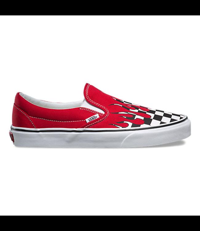 Vans Checkerboard Flame Slip-On Skate