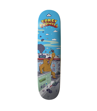 "Thank You Skate Co 7.75"" Torey Pudwill Rampage Deck"