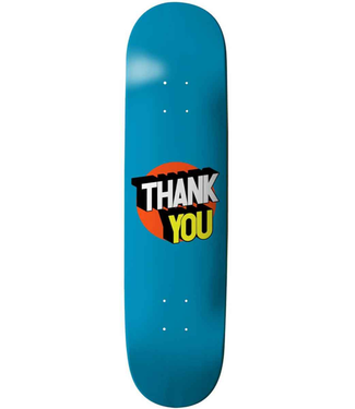 "Thank You Skate Co 8.125"" Spot On Deck"