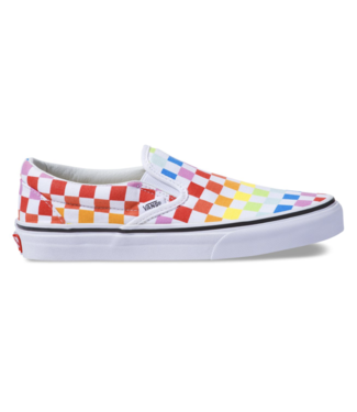 Vans Checkboard Rainbow Slip-On