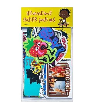 StrangeLove Skateboards Sticker Pack #6