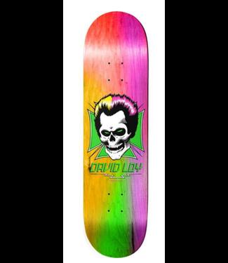 "Birdhouse Skateboards 8.38"" Loy Skull Rainbow Deck"