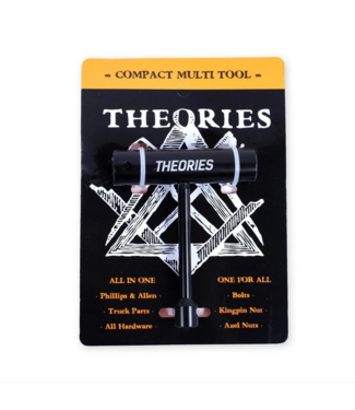 Theories Skateboards Multi Compact Tool