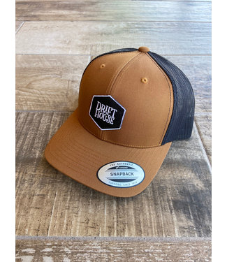 Drift House Logo 6 Panel Snapback Hat