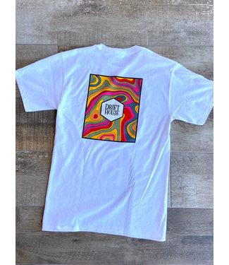 Drift House Trippy Box Logo T-Shirt