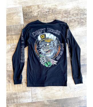 Drift House Trust Your Captain Long Sleeve Shirt