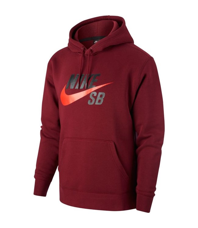 Almacén Inicialmente Pelmel  Nike SB Icon Chile Red Pullover Skate Hoodie - Drift House