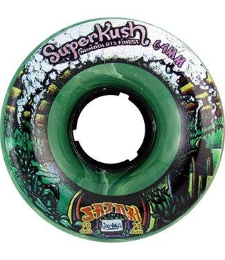 Satori Skate 64mm Goo Ball Superkush 78a Wheels