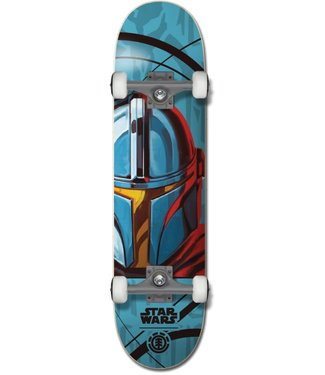 "Element Skateboards x Star Wars Mando 8.0"" Complete"