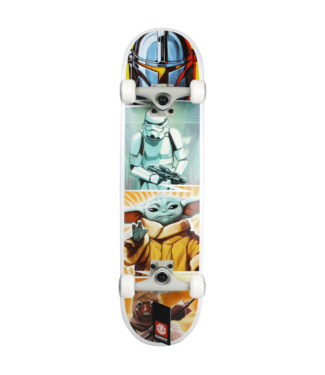 "Element Skateboards 7.75"" Star Wars Mandalorian Quadrant Complete"