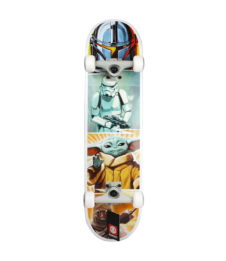 "Element Skateboards 8.0"" Star Wars Mandalorian Quadrant Complete"