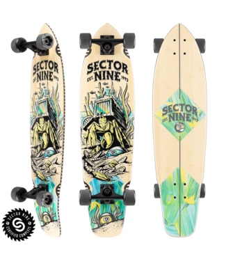 Sector 9 Fortune Ft. Point Complete Longboard