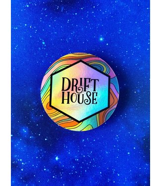 Drift House Holographic Sticker