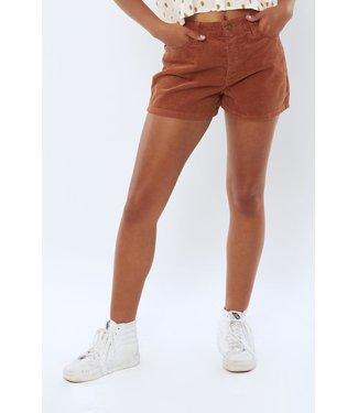 Sisstrevolution Sunny Woven Cord Shorts