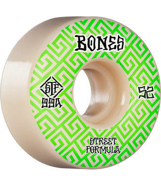 Bones STF V2 Patterns 53mm Skate Wheels