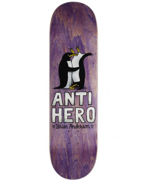"Anti Hero Skateboards 8.18"" Brian Anderson Lovers II Deck"