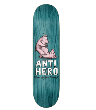 "Anti Hero Skateboards 8.38"" Daan Lovers II Deck"