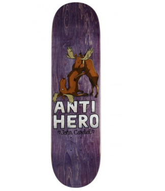 "Anti Hero Skateboards 8.25"" John Cardiel Lovers II Deck"