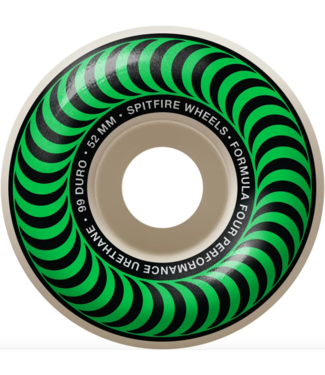 Spitfire Wheels 52mm F4 99A Classic Swirl Wheels