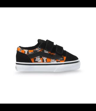 Vans Toddler Old Skool V Glow Sk8 Monsters Shoes