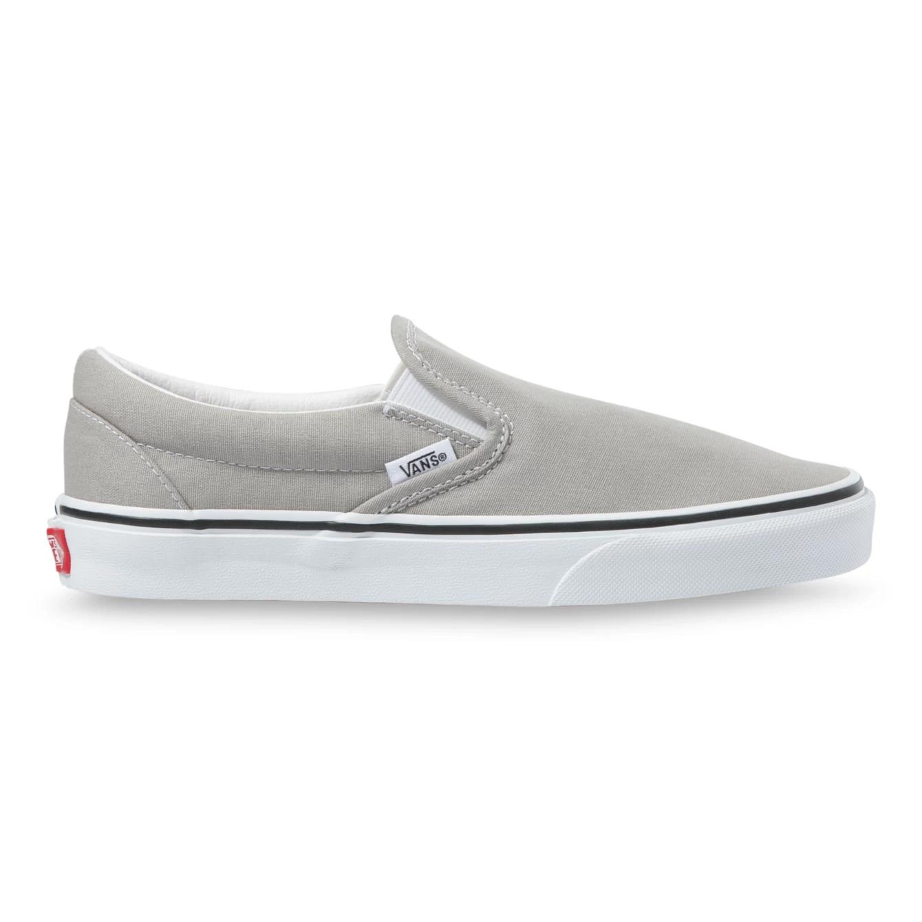 Vans Classic Slip-On Drizzle/True White Shoes