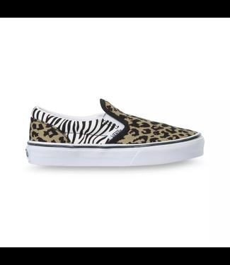 Vans Kids Classic Slip-On Animal Mix Shoes