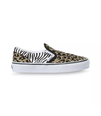 Vans Juniors Classic Slip-On Animal Mix Shoes