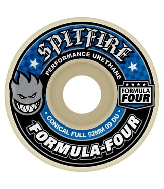 Spitfire Wheels 52mm Formula Four Conical Full 99A Wheels