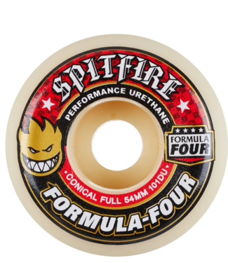 Spitfire Wheels 54mm Formula Four Conical Full 101A Wheels