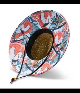 Hemlock Hat Co. Havana Flamingo Print Hat