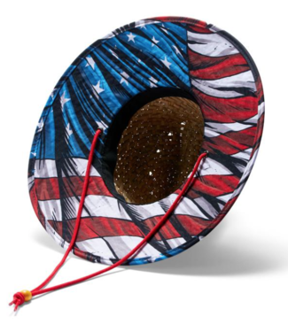 Hemlock Hat Co. Maverick USA Print Hat