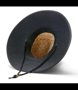 Hemlock Hat Co. Blackout Solid Print Hat