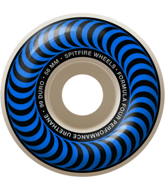 Spitfire Wheels 56mm SF F4 99a Classic Swirl Wheels