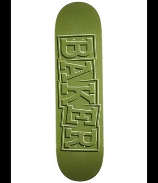 """Baker Skateboards 8.5"""" Funkhouser Ribbon Green Deck"""