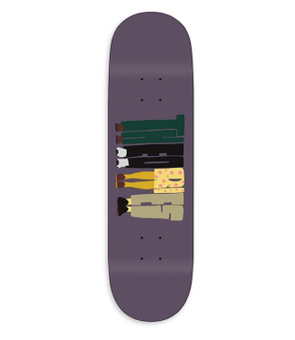 """Theories Skateboards 8.125"""" About Nothing Deck"""