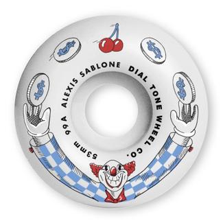 Dial Tone Wheels 53mm Sablone Wisecracker Standard 99a Wheels
