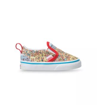 Vans Waldo Toddler Slip On V Shoes