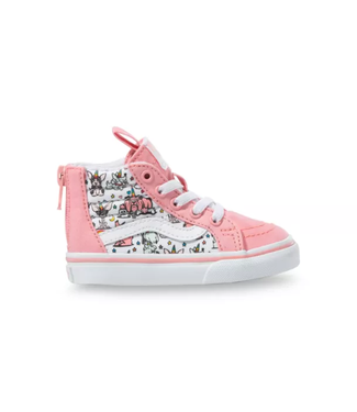 Vans Toddler Sk8-Hi Zip Puppicorns Shoe