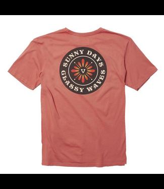 Vissla Rootsy Pigment Dye T-Shirt