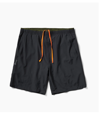 "Roark Revival Run Amok Bommer Ridge 7"" Black Shorts"