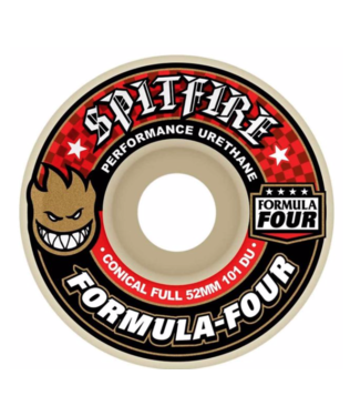 Spitfire Wheels 52mm Formula 4 Conical Full 101a Wheels