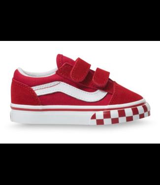 Vans Toddler Old Skool V Check Bumper Shoes