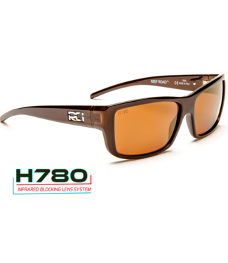 RCI Optics Reef Road Copper Sunrise Gold Mirror Sunglasses